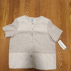 Alfred Dunner Tops - NWT! Alfred Dunner Petite Top